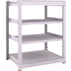 Medium Capacity Boltless Shelf Model TUG (300 kg Type, Height 1,200 mm, 4 Shelf Type) Single Unit Type (Height 1,200 mm, 4 Shelf Type)
