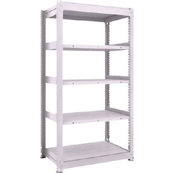 Medium Capacity Boltless Shelf Model TUG (300 kg Type, Height 1,800 mm, 5 Shelf Type) Single Unit Type (Height 1,800 mm, 5 Shelf Type)