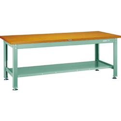 Medium Work Bench with Lower Shelf Steel Tabletop Average Load (kg) 2000