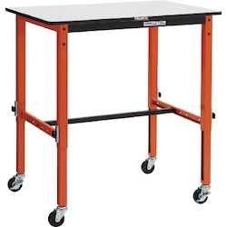 Light Work Bench TFAE Type with Adjustable Height Function / Casters Average Load (kg) 80