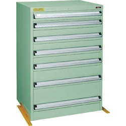 Medium Duty Cabinet, VE7S Type (3 Lock Safety Mechanism/Anti-Tip Fittings), Height 1000 mm