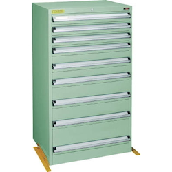 Medium Duty Cabinet, VE7S Type (3 Lock Safety Mechanism/Anti-Tip Fittings), Height 1200 mm