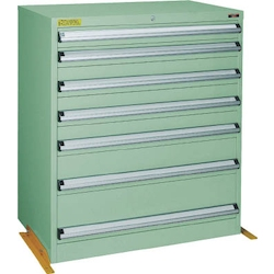 Medium Duty Cabinet, VE9S Type (3 Lock Safety Mechanism/Anti-Tip Fittings), Height 1000 mm