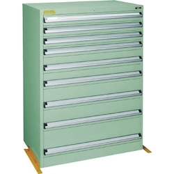 Medium Duty Cabinet, VE9S Type (3 Lock Safety Mechanism/Anti-Tip Fittings), Height 1200 mm