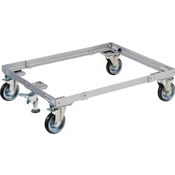 Wire Mesh Pallet Dolly with Stopper