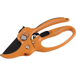 Pruning scissors (ratchet type)