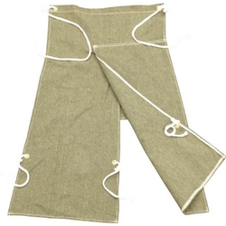 Pike Protector Apron with Leg Wraps