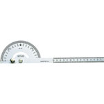 Protractor (silver finish / precision)
