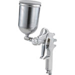Spray Gun with cup set Gravity type nozzle diameter (mm) ø1.3 Cup material aluminum die-casting