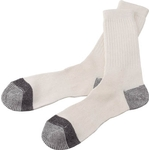 Work Socks, Rounded Tip Type (5 Pairs)