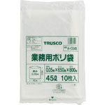 Industrial Plastic Bag, Transparent, Thick 0.035–0.05 mm