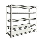 Small to Medium Capacity Boltless Shelf Model M1.5 (150 kg Type, Height 1,800 mm, 5 Shelf Type)