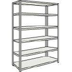 Small to Medium Capacity Boltless Shelf Model M1.5 (150 kg Type, Height 2,100 mm, 6 Shelf Type)