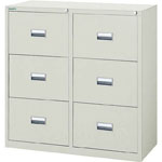 Steel Filing Cabinet Storage (White / Neo Gray)