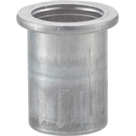 Crimp Nut, Flatbed, Aluminum, Packaged T-BN