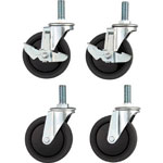 Casters for Clean Flex Wagon CFL3
