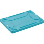 F Type Eco-Cap Recyclable Container Lid - Light Blue