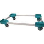 Aluminum Dolly with Silent Casters