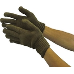 All Cotton OD Color Work Gloves (12-pair set)