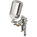 Spray Gun with cup set Gravity type nozzle diameter (mm) ø1.3 Cup material brass/aluminum die-casting