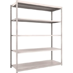 Small to Medium Capacity Boltless Shelf Model M1.5 (150 kg Type, Height 2,100 mm, 5 Shelf Type)
