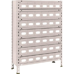Small Capacity Bolted Shelves (Stainless Steel Drawers Provided, 100 kg Type, Height 1,200 mm and 1,800 mm)