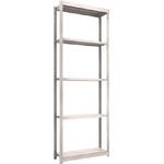 Small to Medium Capacity Boltless Shelf Model M1.5 (150 kg Type, Height 2,400 mm, 5 Shelf Type)