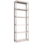 Small to Medium Capacity Boltless Shelf Model M2 (200 kg Type, Height 2,400 mm, 6 Shelf Type)