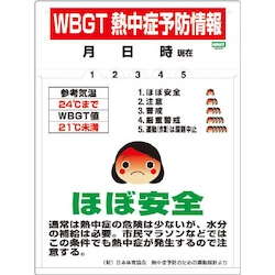 Heatstroke Prevention Information Label with Holder (Set of 5)
