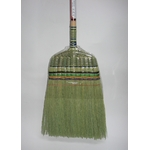 Hand-woven Long Broom, Turtle
