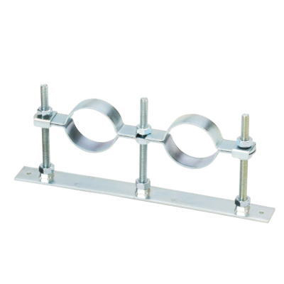 Support Fixture for Collection Piping, Double/Triple Floor Band (with Stopper)