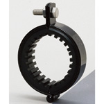 Piping Bracket - Black Vibration Proof Band