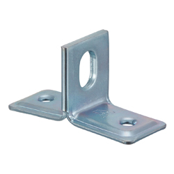 One-Hole T Foot Pipe Stand-off Clamp (Electrogalvanized / Stainless Steel / Hot Dip Plating)