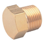 Threaded Fitting, Hex Plug HP