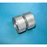 Tube Expansion Fitting for Stainless Steel Pipes, BK Joint, Short Pipe with Cap Nut