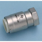 Single-Touch Fitting for Stainless Steel Pipes, EG Joint Socket with Female Adapter EGFA/A・EGFA