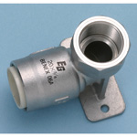 Single-Touch Fitting for Stainless Steel Pipe EG Joint, Water Faucet Elbow with Seat EGZWE (for JIS G 3448)