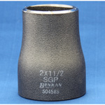 Butt Weld Type Pipe Fitting, Stainless Steel Reducer (Concentric/Eccentric), Black Pipe
