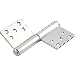 127, Front Attachment Flag Hinge
