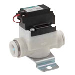 Pilot-Operated, 2-Ports Valve, Small Size Air Flow Valve EXA Series