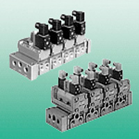 Individual Wiring Manifold, M4F4, 5, 6, 7 Series, Electromagnetic Valve, Unit