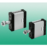 Space-saving flat cylinder compact ∙ demi-FCD series