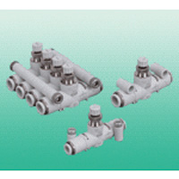 in-Out Speed Control Valve Line Type with Push-in Joint SCD2 Series