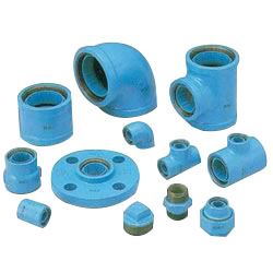 Core Fittings - for Lining Steel Pipe Connection - Tee with Different Diameters