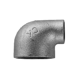 CK Fittings - Screw-in Type Malleable Cast Iron Pipe Fitting - Unequal Diameter Elbow with Band