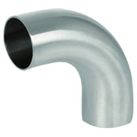 Sanitary Pipe Fittings - 90° Long Elbow - 3A Standard