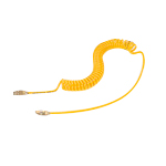 Spiral Air Hose, Yellow Line TPS Type