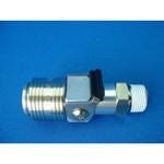 Mega Flow X Coupling Aluminum Male Thread Model