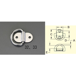 [Stainless Steel] Wall Fitting EA638BT-33