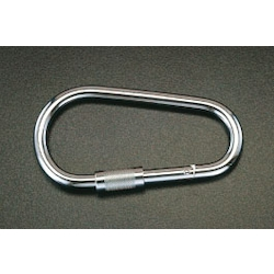 [Stainless Steel] Carabiner with Safety Sleeve EA638JF-12